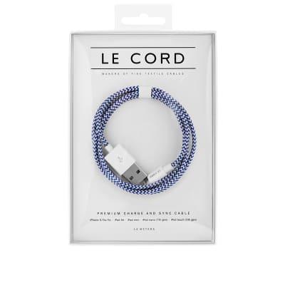 Le Cord Broken Ocean 1.2m Lightning Cable