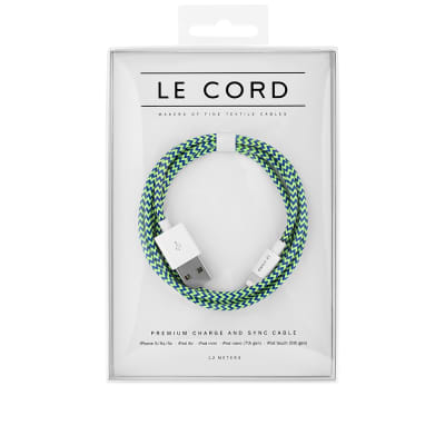 Le Cord Trumpster Braided 1.2m Lightning Cable