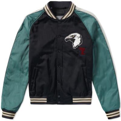 Lanvin Eagle Varsity Jacket