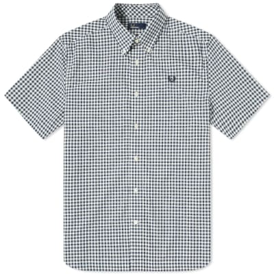 Fred Perry Authentic Short Sleeve Gingham Shirt