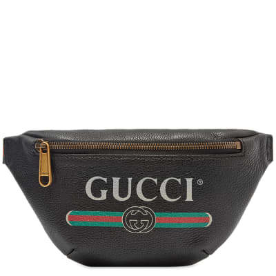 Gucci Print Waist Bag