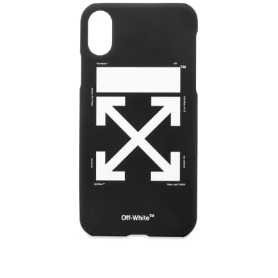 Off-White Arrow Logo iPhone X Case