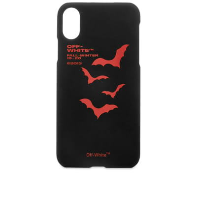 Off-White Bats iPhone X Case
