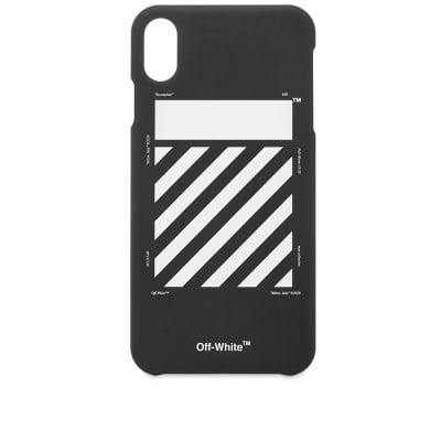 Off-White Diagonal Logo iPhone XS Max Case
