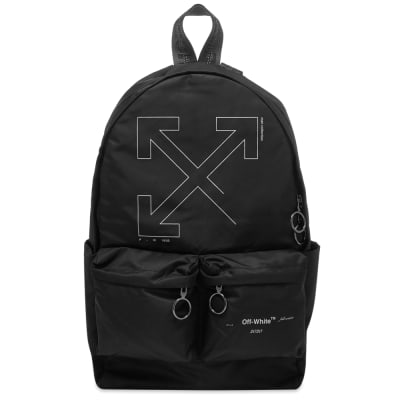 Off-White Unfinished 3M Arrows Backpack