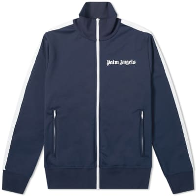 Palm Angels Classic Zip Track Jacket