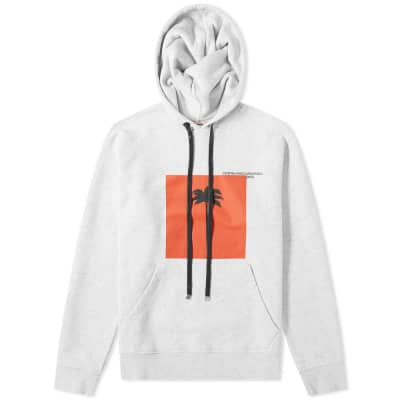 Palm Angels Front Palm X Palm Hoody