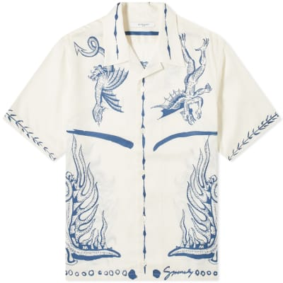 59406d94 Givenchy Icarus Hawaiian Shirt