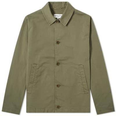 a04747bfbc897 YMC Groundhog Cotton Twill Chore Jacket