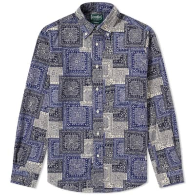 Gitman Vintage Paisley Blues Shirt