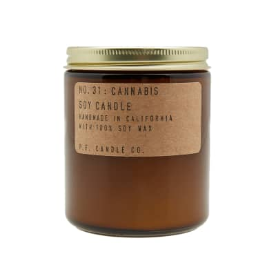 P.F. Candle Co No.31 Cannabis Soy Candle