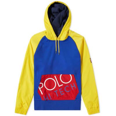 Polo Ralph Lauren Hi-Tec Nylon Sleeve Popover Hoody