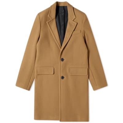 AMI Wool Overcoat