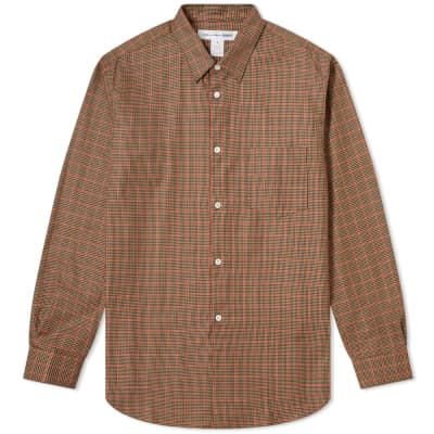 Comme des Garcons SHIRT Poplin Tweed Check Shirt