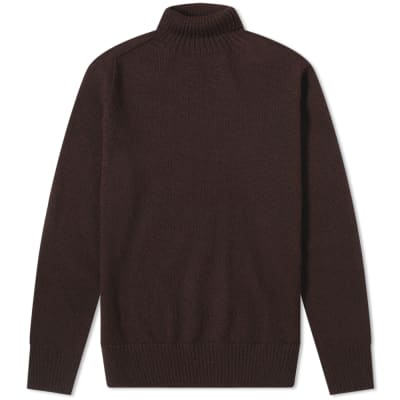 MHL. by Margaret Howell Saddle Sleeve Roll Neck