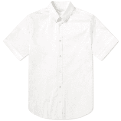 Alexander McQueen Short Sleeve Cuffed Shirt