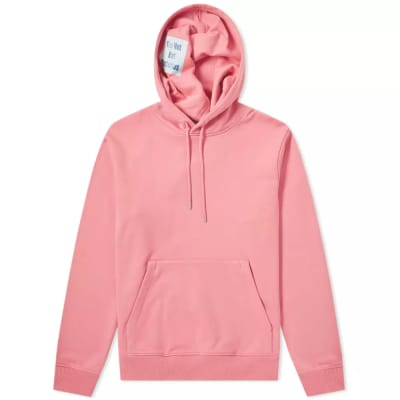 Helmut Lang x Jeremy Deller 'Project Pink' Reversible Popover Hoody