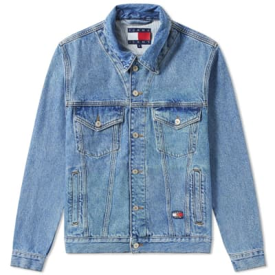 Tommy Jeans 6.0 Crest Flag Trucker Jacket M18