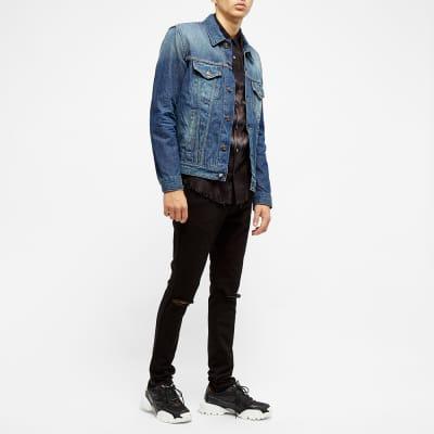 Balmain Distressed Wash Slim Jean