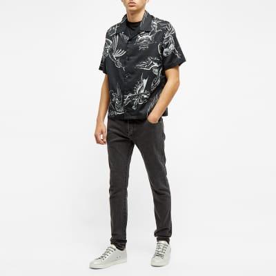 Balmain Monogram Embossed Pocket Slim Jean