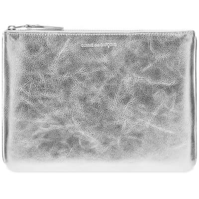 Comme des Garcons SA5100G Silver Wallet