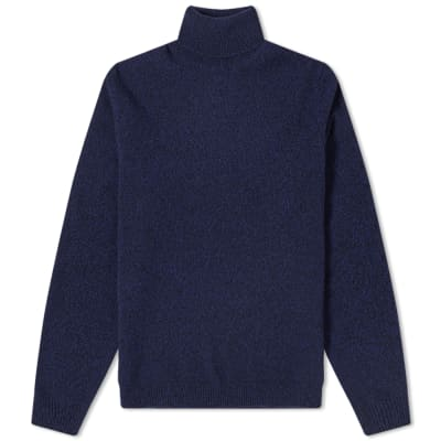 Norse Projects Kirk Twist Roll Neck Knit