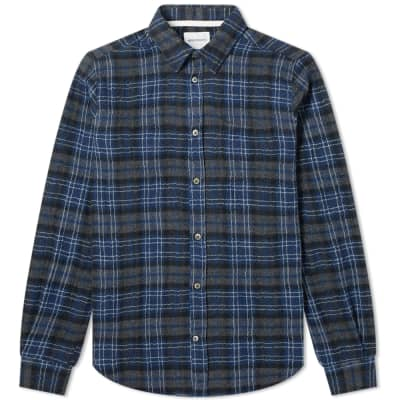 Norse Projects Osvald Japanese Gauze Check Shirt