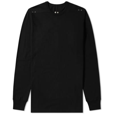 Rick Owens Long Sleeve Riveted Level Tee