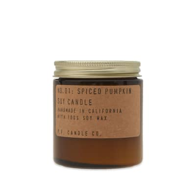 P.F. Candle Co No.01 Spiced Pumpkin Mini Soy Candle