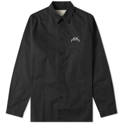 A-COLD-WALL* Logo Poplin Shirt