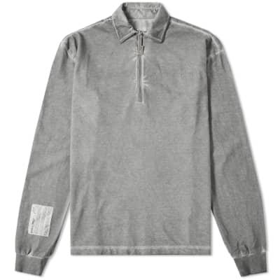A-COLD-WALL* Long Sleeve Quarter Zip Polo