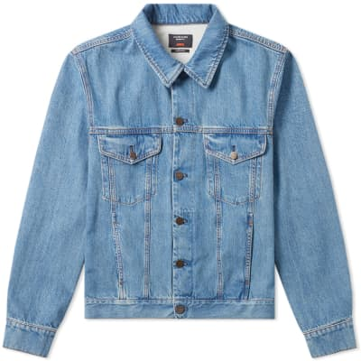 Calvin Klein 205W39NYC JAWS Back Print Denim Jacket