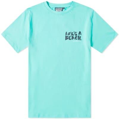 Life's a Beach Logo Tee