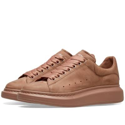 Alexander McQueen Nubuck Oversized Sneaker