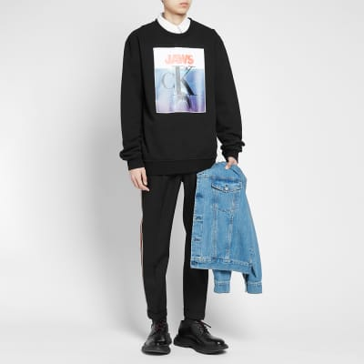Calvin Klein 205W39NYC JAWS Crew Sweat