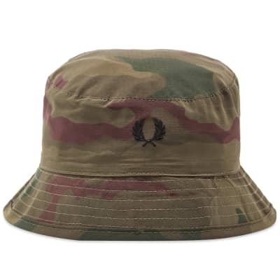 Fred Perry x Arktis Camo Bucket Hat