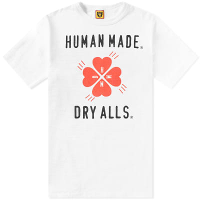 Human Made Clover Logo Tee