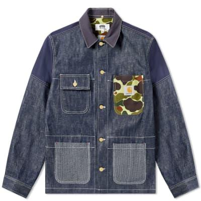Junya Watanabe MAN eYe x Carhartt Customised Chore Jacket