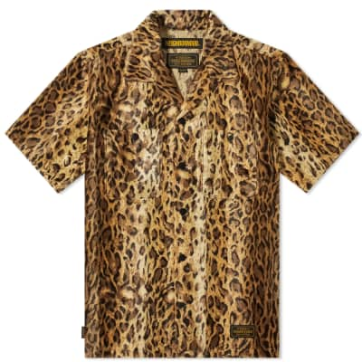 Neighborhood Short Sleeve Fur Shirt