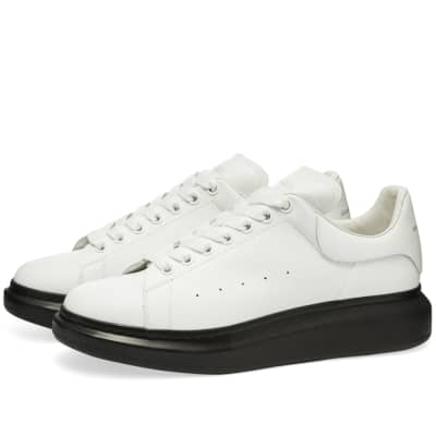 Alexander McQueen Contrast Wedge Sole Sneaker