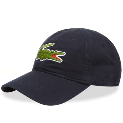 Lacoste Big Croc Logo Cap