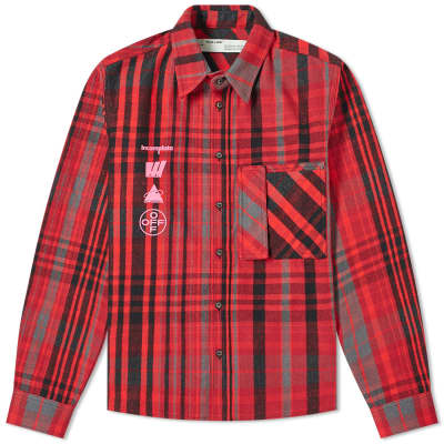 Off-White Mariana De Silva Check Shirt
