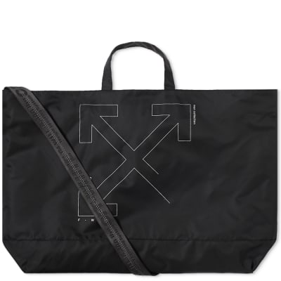 Off-White Unfinished 3M Arrows Tote