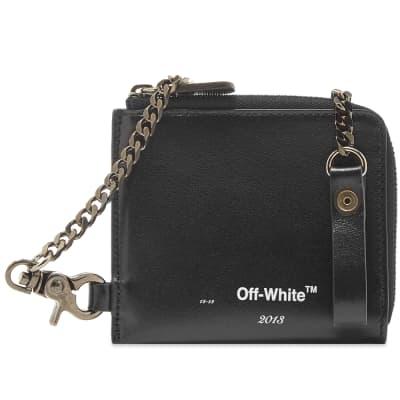 "Off-White ""LOGO"" Chain Wallet"