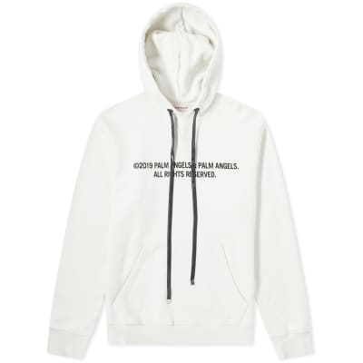 Palm Angels Palm X Palm Print Popover Hoody