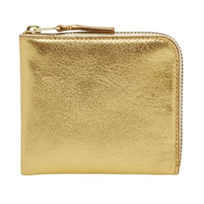 Comme des Garcons SA3100G Gold Wallet