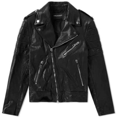 Neil Barrett Skinny Fit Biker Jacket