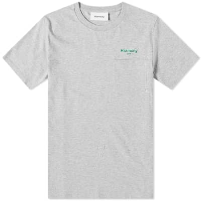 Harmony Teddy Logo Pocket Tee