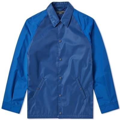 Comme des Garcons Homme Back Logo Coach Jacket