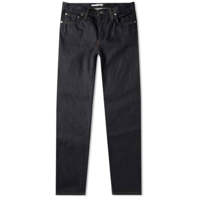 Helmut Lang Masc Hi Straight Raw Jean
